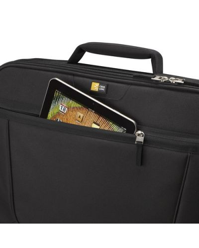 """Чанта за лаптоп Case Logic VNCI-215 15.6"""" - черна - 5"""