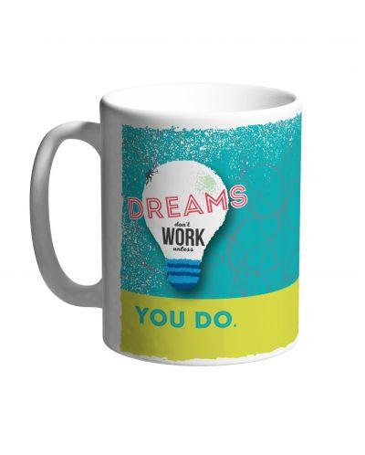Чаша Dreams don't work - 1