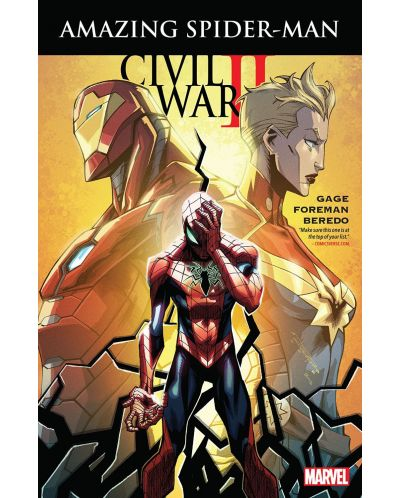 Civil War II Amazing Spider-Man (комикс) - 1