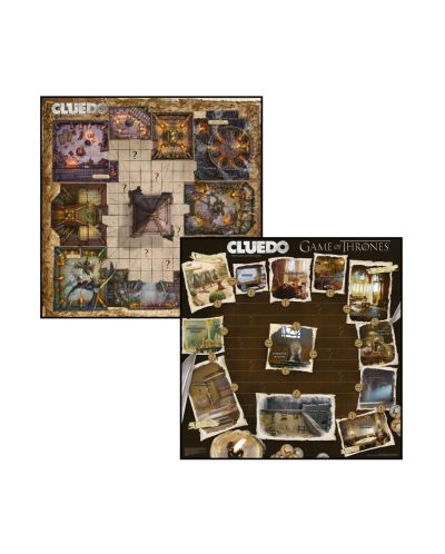 Настолна игра Cluedo - Game of Thrones, стратегическа - 2