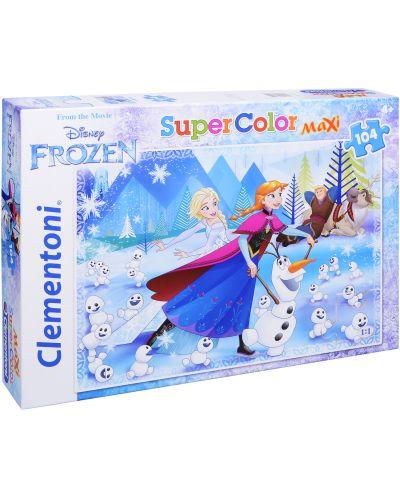 Пъзел Clementoni от 104 макси части - Замръзналото кралство - 1