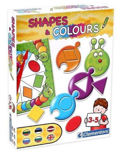 Детска игра Clementoni - Цветове и форми - 1