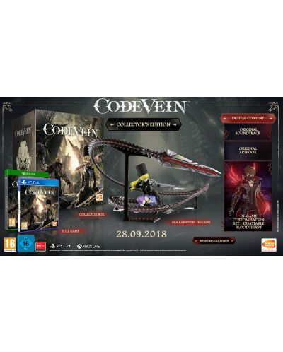 Code Vein Collector's Edition (PS4) - 12