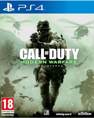 Call of Duty Modern Warfare Remastered (PS4) - 1