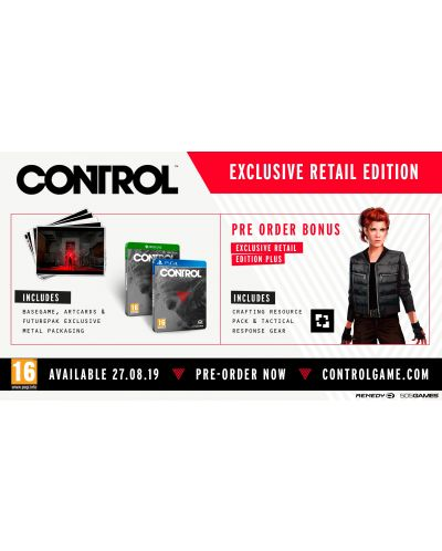 Control Deluxe Edition (Xbox One) - 4