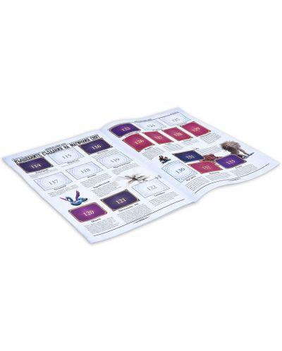 Стартов пакет Panini Фантастични животни: Престъпленията на Гринделвалд - албум + 50 пакета стикери: 250 бр. стикера - 5