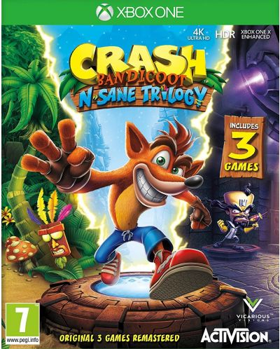 Crash Bandicoot N. Sane Trilogy (Xbox One) - 1