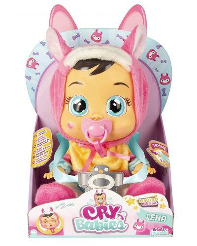 Плачеща кукла със сълзи IMC Toys Cry Babies - Лена, лама - 4