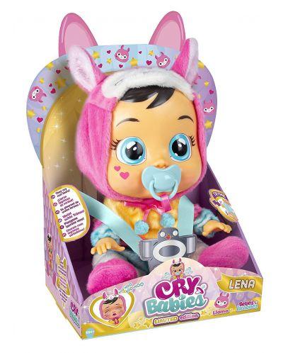 Плачеща кукла със сълзи IMC Toys Cry Babies - Лена, лама - 3