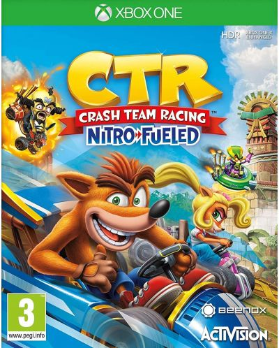 Crash Team Racing Nitro-Fueled (Xbox One) - 1