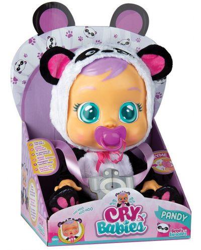 Детска играчка IMC Toys Crybabies – Плачещо със сълзи бебе, Панди - 3
