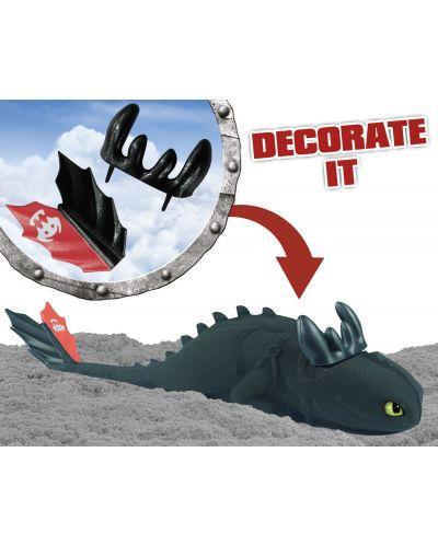 Игрален комплект с кинетичен пясък Craze Magic Sand Dragons Island - Арена с дракони и фигурки - 5