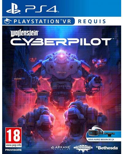 Wolfenstein: Cyberpilot VR (PS4 VR) - 1