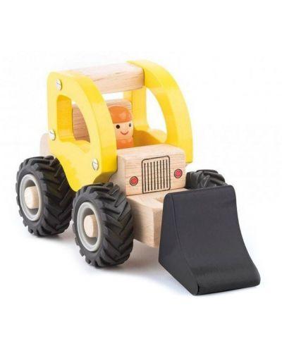 Дървена играчка Woody - Багер - 1