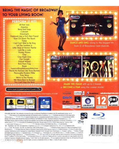 Dance On Broadway (PS3) - 2