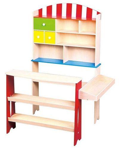Дървен магазин Lelin - 1