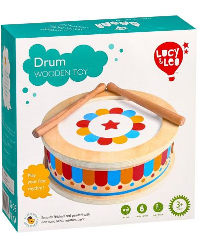 Детски музикален инструмент Lucy&Leo - Барабан - 5
