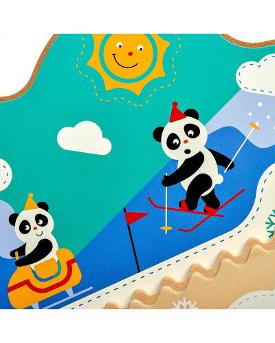 Интерактивна играчка за стена Lucy&Leo - Зимно приключение - 7