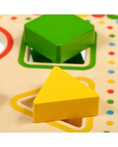 Дървена играчка Lucy&Leo - Сортер за форми - 6