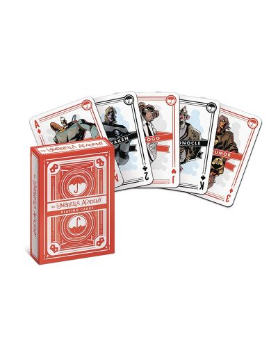Dark Horse Deluxe: The Umbrella Academy Playing Cards - 1