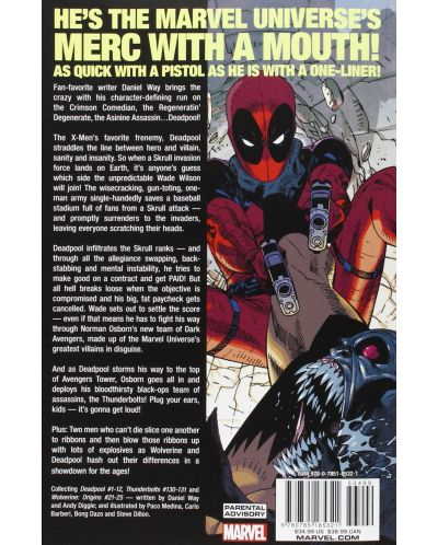 Deadpool By Daniel Way: The Complete Collection, Volume 1 - 2