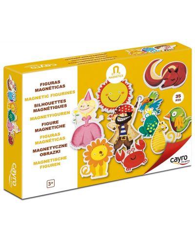 Детска игра Cayro - Магнитни фигури - 1