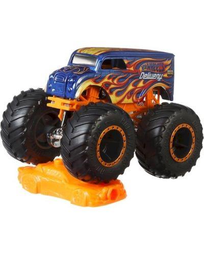 Детска играчка Hot Wheels Monster Trucks - Голямо бъги, Delivery - 2