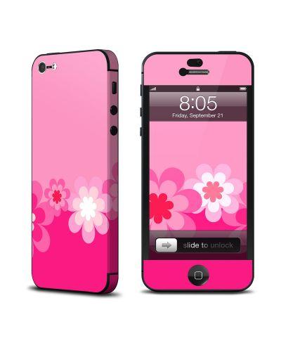 Калъф Decalgirl Retro Pink Flowers за iPhone 5 - 1