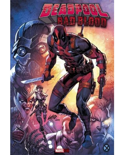 Deadpool: Bad Blood (Hardcover) - 1