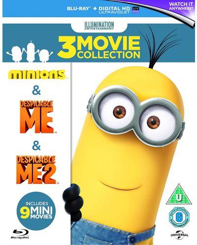 Despicable Me / Despicable Me 2 / Minions (Blu-Ray) - 1