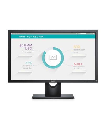 """Dell E2318H, 23"""" Wide LED Anti-Glare, IPS Panel, 5ms, 1000:1, 250 cd/m2, 1920x1080 Full HD, VGA, Display Port, Tilt, Black - 1"""