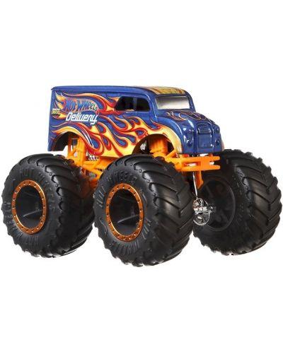 Детска играчка Hot Wheels Monster Trucks - Голямо бъги, Delivery - 1