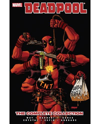Deadpool by Daniel Way: The Complete Collection, Volume 4 - 1