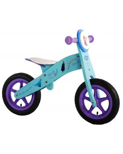 Дървено колело за баланс E&L Cycles - Дисни Замръзналото кралство, 12 инча - 1
