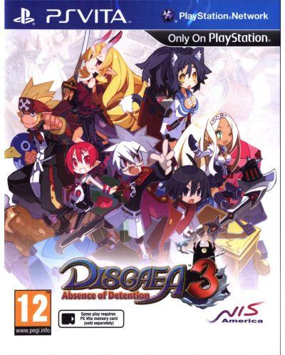 Disgaea 3: Absence of Detention (PS Vita) - 1