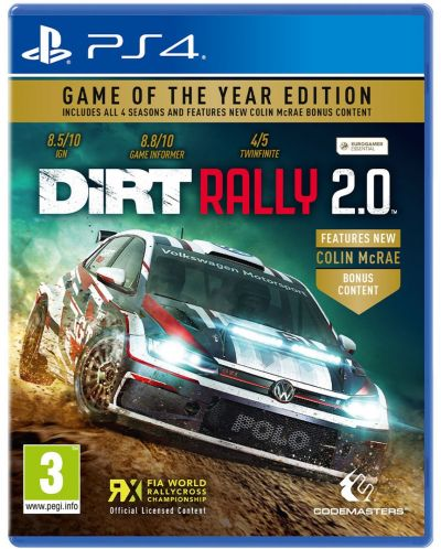 DiRT Rally 2.0 - Game of the Year Edition (PS4) - 1