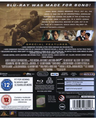 Die Another Day (Blu-Ray) - 2