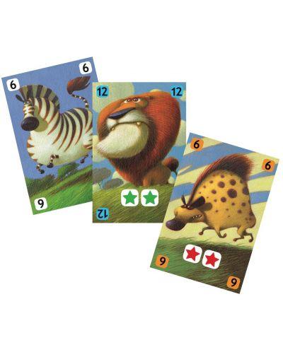 Детска игра с карти Djeco - Савана - 2