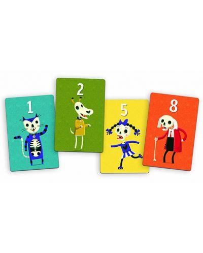 Детска игра с карти Djeco - Скелети - 2