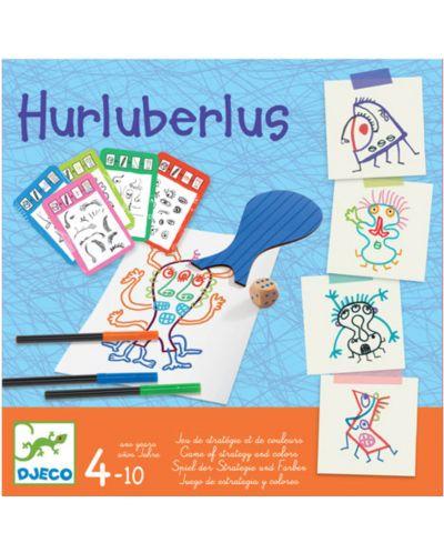 Детска арт игра Djeco - Hurluberlus - 1