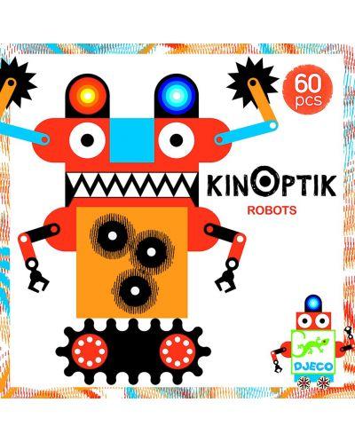 Анимирани картини КинОптик Djeco – Роботи, 60 части - 1
