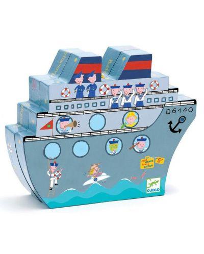 Морски шах с кораби Djeco - 3