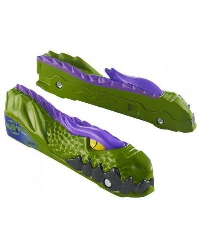 Количка Hot Wheels Split Speeders - Diced Dino, разделяща се, с магнит - 4