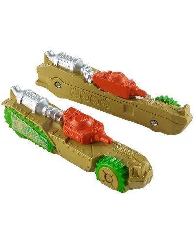 Количка Hot Wheels Split Speeders - Splittin' Tank, разделяща се, с магнит - 3