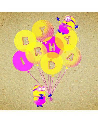 Поздравителна картичка Danilo - Crafty Minions: Birthday Ballons - 1