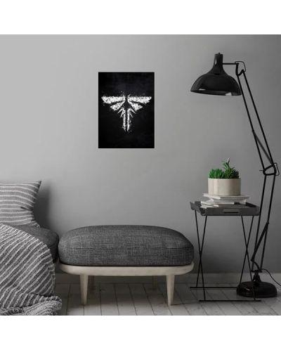 Метален постер Displate - The Last of us Firefly - 4