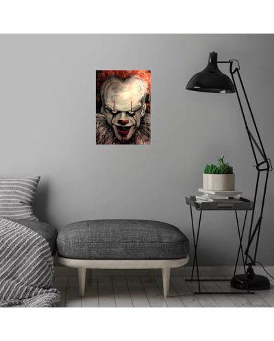 Метален постер Displate - Pennywise portrait - 4
