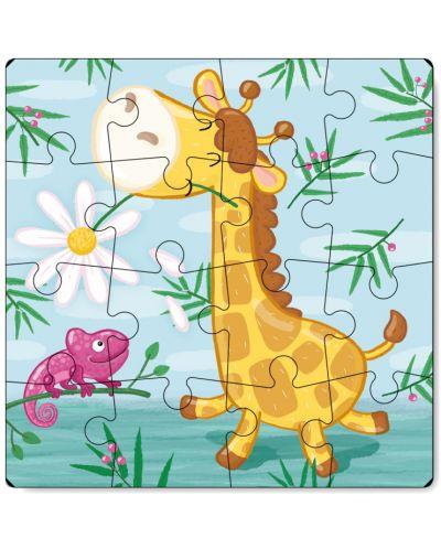 Детски пъзел Dodo от 16 части - Жираф - 2