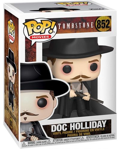 Фигура Funko Pop! Movies: Tombstone - Doc Holliday, #852 - 2
