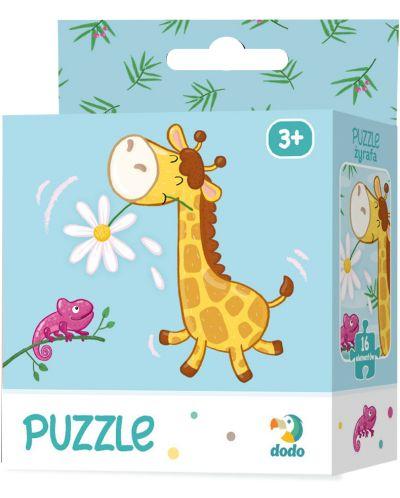 Детски пъзел Dodo от 16 части - Жираф - 1